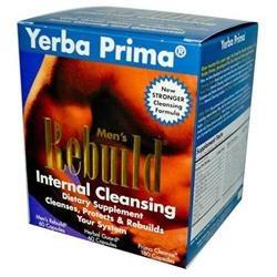 Yerba Prima Men's Rebuild Internal Cleansing System, 1 kit