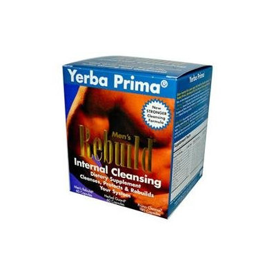 Yerba Prima Men's Rebuild Internal Cleansing System, 1 kit