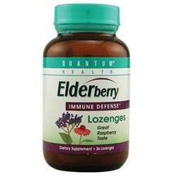 Quantum Health 58597 Cold Season Elderbery Lozenge