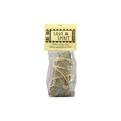 Sage Spirit Incense Sage Spirit Small Native American Incense Sage and Copal - 5 Incense