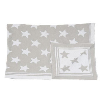 Tots Fifth Ave 1942 Star Blanket Grey