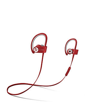 Beats By Dr Dre Beats by Dr. Dre Powerbeats 2 12466 Wireless InEar Headphone Red