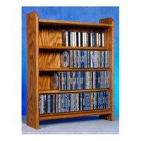 Wood Shed 4 Shelf CD Storage (Unfinished)