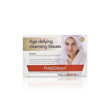 Purederm Age Defying Cleansing Tissues 30 Tissues