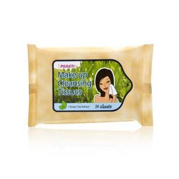 Prreti Make-Up Cleansing Tissues - Green Tea Extract