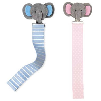 Mud Pie Pacy Clip, Elephant/Pink 2112212
