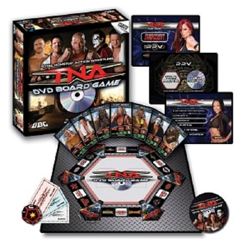 GDC-GameDevCo Total Non-stop Action Wrestling DVD Game Ages 10 and up