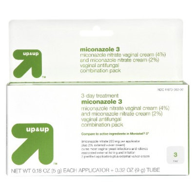 up & up up&up Miconazole Viginal Antifunal Cream 3 Day Treatment - 0.32 oz