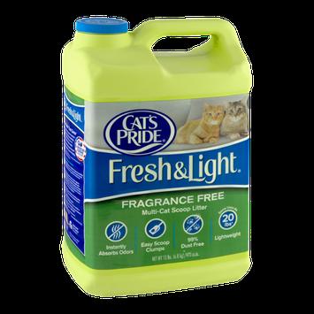 Cat's Pride Fresh & Light Fragrance Free Multi-Cat Scoop Litter