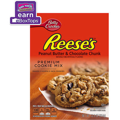 Betty Crocker Reese's Peanut Butter & Chocolate Chunk Cookie Mix 12.5