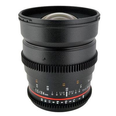 Rokinon 24mm T1.5 Cine Lens for Canon EF-Mount plus Accessory Kit