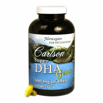 Carlson Super DHA Gems 500 mg