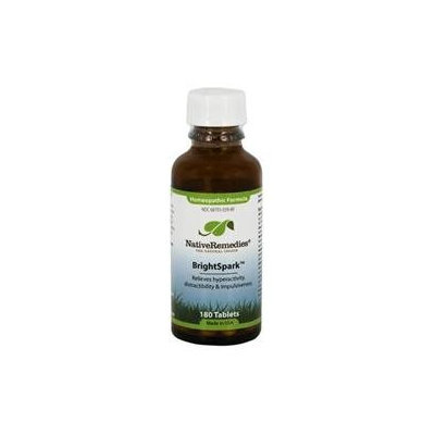 Native Remedies BSP001 BrightSpark for Hyperactivity in Children - 125 Tablets