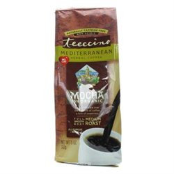 Teeccino Mediterranean Herbal Coffee Mocha - 11 oz