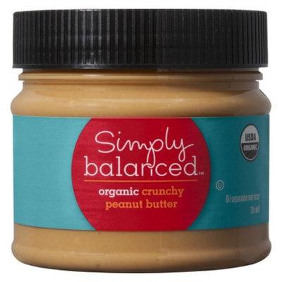 Simply Balanced Organic Crunchy Peanut Butter 16 oz