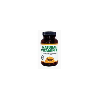 Country Life - Vitamin E 1000 I.U. - 120 Softgel