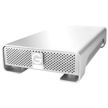 G-Technology G-DRIVE 1TB External Hard Drive w/ eSATA, USB 2.0, Firewire 400, Firewire 800 Interfaces 0G00199