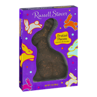 Russell Stover Pretzel Pieces Milk Chocolate Rabbit