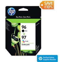 HP 96/97 Combo-Pack Printer Ink Cartridge - Multicolor (C9353FN#140)