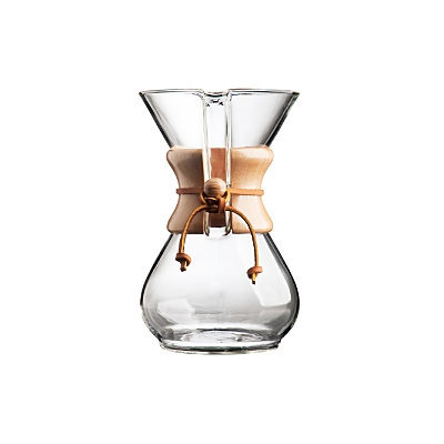 Williams Sonoma Chemex 6-Cup Glass Coffee Maker Williams-Sonoma