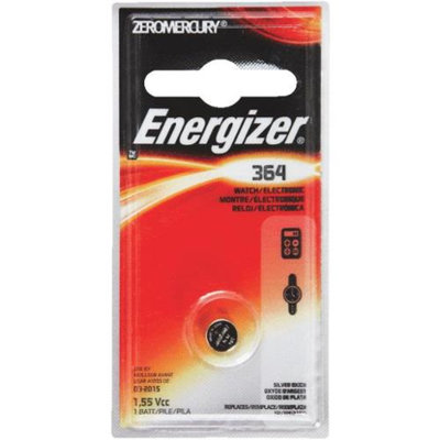 Energizer Watch/Electronic Silver Oxide Battery#364BPZ