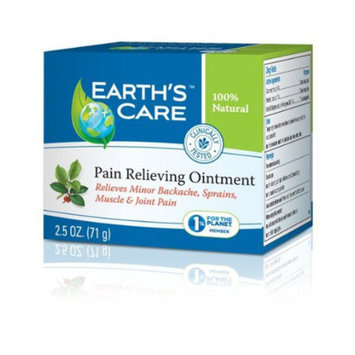 Earth's Care Earths Care 1216159 Pain Relieving Ointment 2.5 Oz