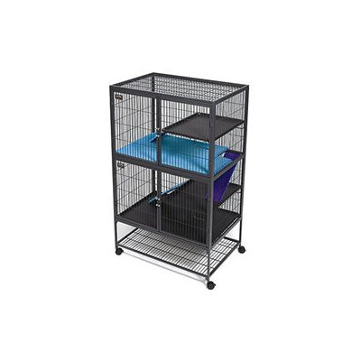 Midwest Pets Ferret Nation Accessories Bottom Pan Cover in Teal and Purple