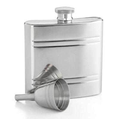 Closeout! Martha Stewart Collection Barware, 2-Piece Flask Set