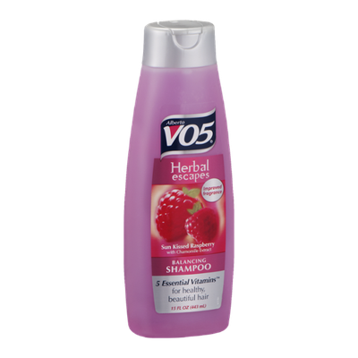 Alberto VO5 Herbal Escapes Balancing Shampoo Sun Kissed Raspberry