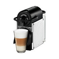 Nespresso Pixie Dot Silver Chrome Steele Lines