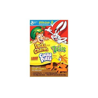 General Mills Triple Pack - 2 lb. 6.5 oz. box - Cold Cereal