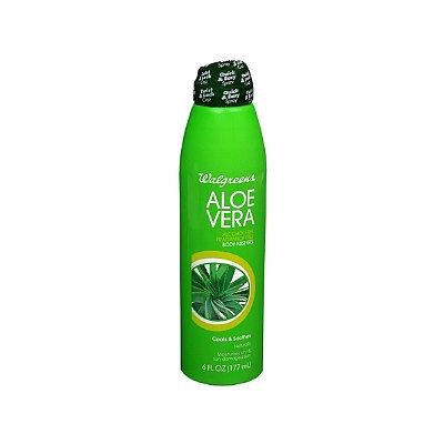 Walgreens Aloe Vera Body Mist Gel