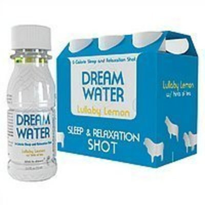 SARPES BEVERAGES LLC DREAM WATER LULLABY LMN W/TEA Size: 6X2.5 OZ Health and Beauty