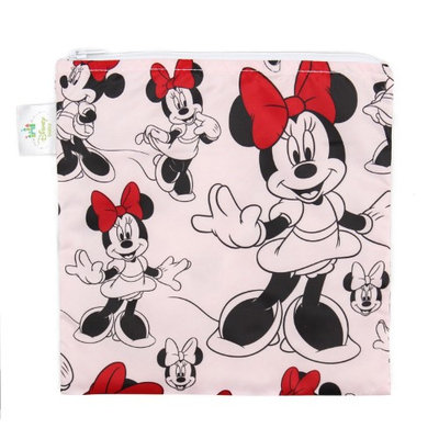 Disney Mickey Mouse & Friends Minnie Mouse Red Reusable Snack Bag by Bumkins