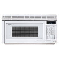 Sharp 1.1 Cu. Ft. 850W Over the Range Convection Microwave - White