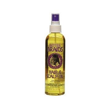 Better Braids Hair & Scalp Oil 8 Oz.