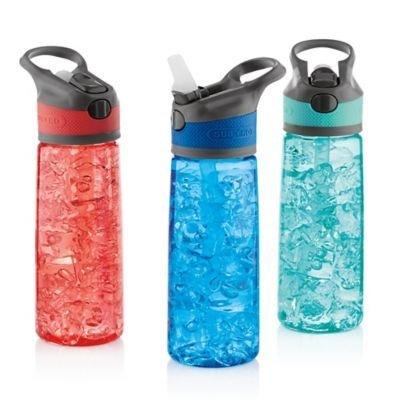 Tritan 24 oz. 3-Pack Bottles with Auto Push Button Lids