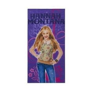 Disney Hannah Montana Cotton Beach Towel Rock Star Miley Cyrus