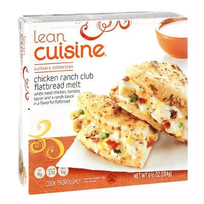 Lean Cuisine Culinary Collection Chicken Ranch Club Flatbread Melt