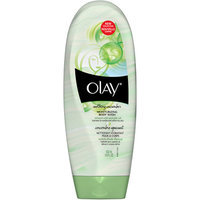 Olay 2-in-1 Essential Oils Ribbons Avocado Oil + Soothing Cucumber Moisturizing Body Wash 18 Oz