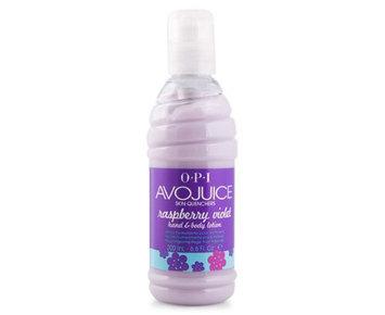OPI Avojuice Raspberry Violet Juicie Skin Quencher 6.6 oz