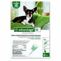 Advantage For Dogs and Puppies 7 Weeks and Older