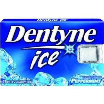 Warner Lambert Cadbury Adams, Dentyne Ice Gum Sugar Free Peppermint -