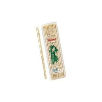 Roland Bamboo Skewers 12-Inches Long with 4 Millimeter Diameter, 100 Count (Pack of 10)