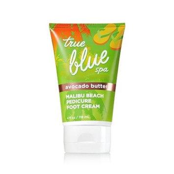 True Blue Spa Avocado Butter Malibu Beach Pedicure Foot Cream 4 Oz/118 Ml