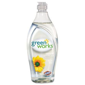 Clorox Natural Dishwashing Liquid Free & Clear, 22 oz
