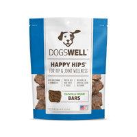 Dogswell Happy Hips Chicken & Veggies Jerky Bars Dog Treats