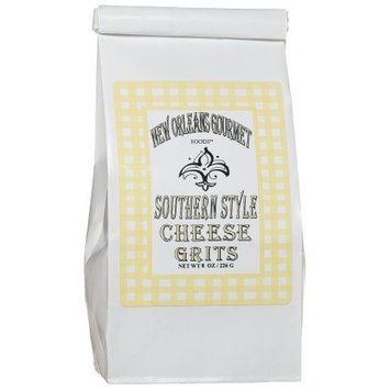 New Orleans Gourmet Foods Orleans Gourmet Southern Style Cheese Grits, 6-Ounce Bags (Pack of 4)