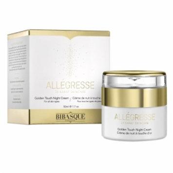 Bibasque Allegresse 24K Gold Golden Touch Night Cream, 1.7 oz