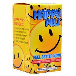 Brain Pharma Co Happy Pills - 60 Capsules - Other Herbs